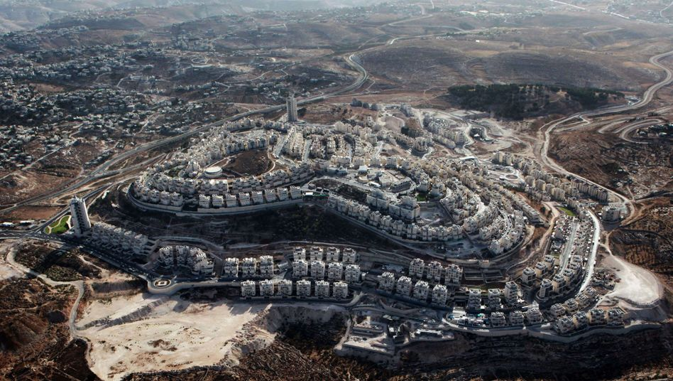 A Jewish settlement on the outskirts of Arab east Jerusalem, near the West Bank biblical town of Bethlehem.