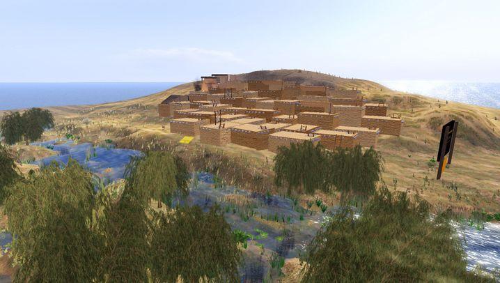"""Virtuelle Steinzeit-Stadt: Çatal Höyük in """"Second Life"""""""