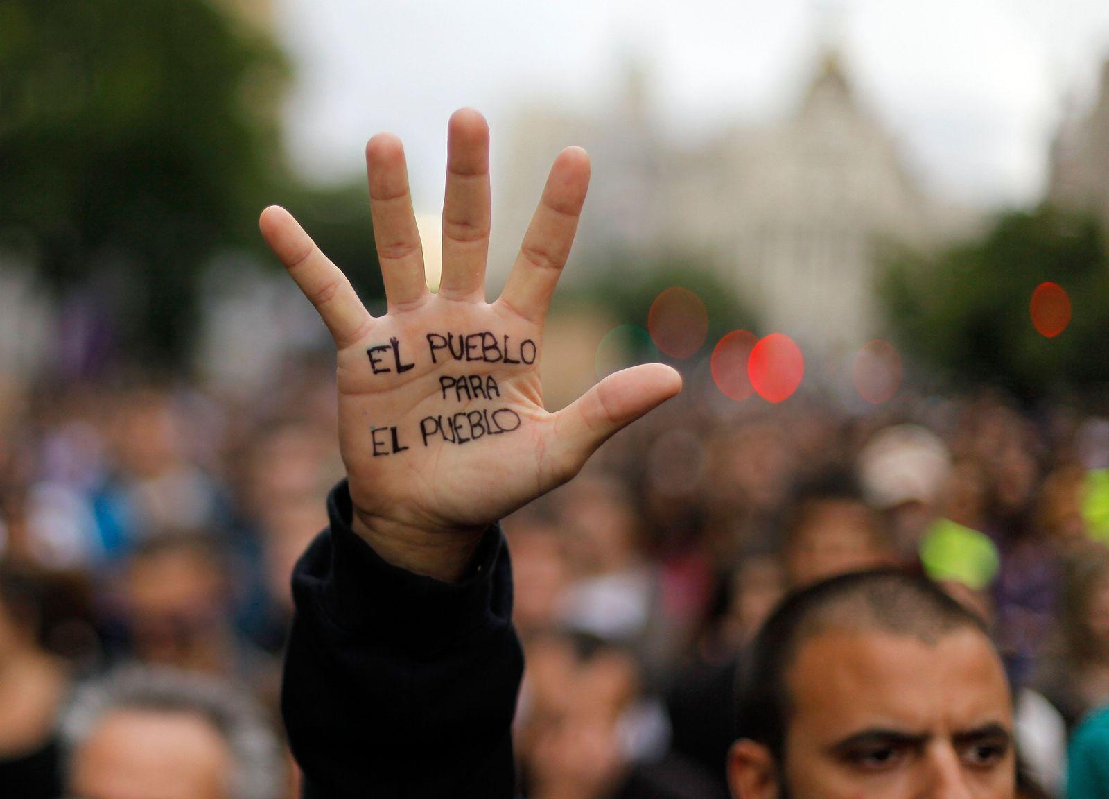 NICHT VERWENDEN Spanien Finanzkrise