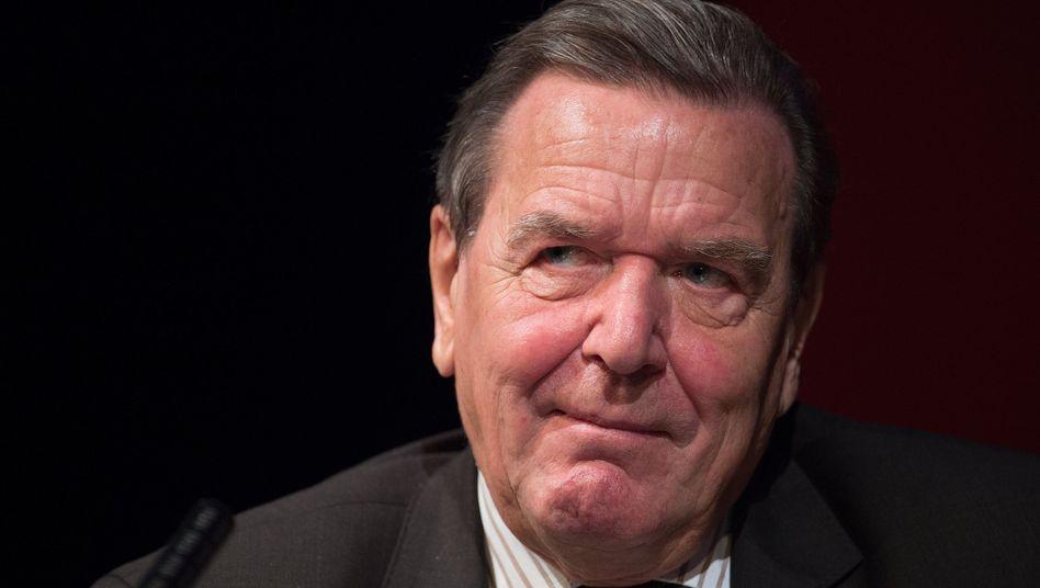 Altkanzler Gerhard Schröder (SPD), 2016