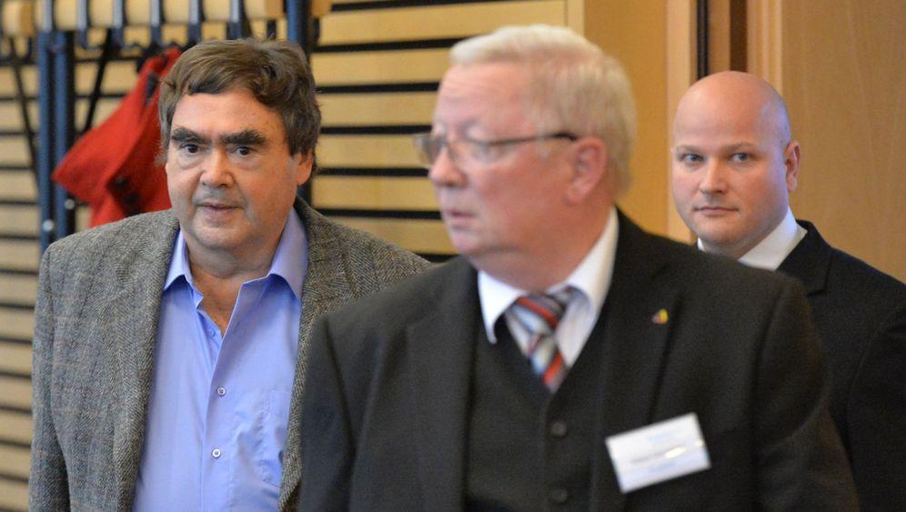 NSU-Ermittlungen: Siegfried Mundlos vor dem Untersuchungsausschuss