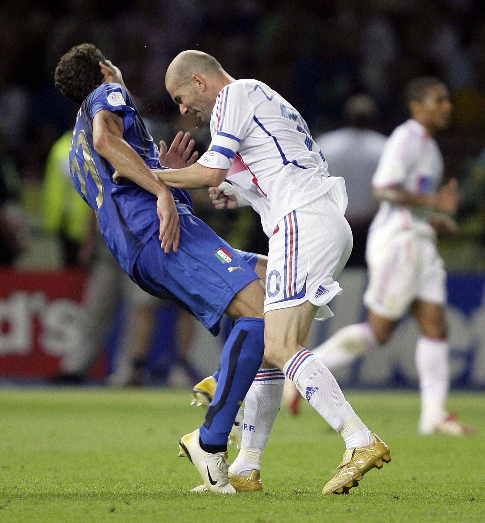 Zinedine Zidane Kopfnuss