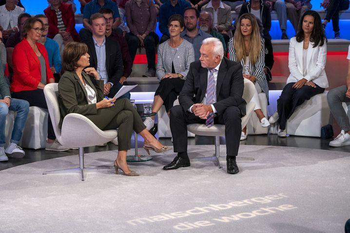 Wolfgang Kubicki zu Gast bei Sandra Maischberger in der Sendung am 4. September 2019