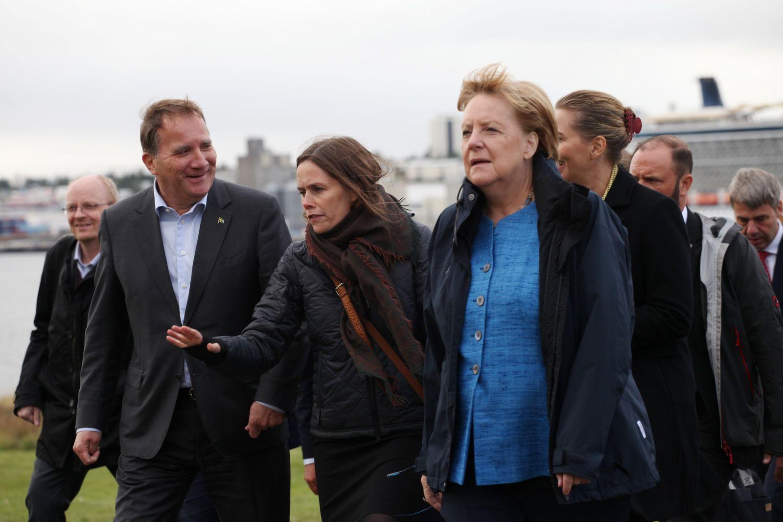 Bundeskanzlerin Merkel in Island