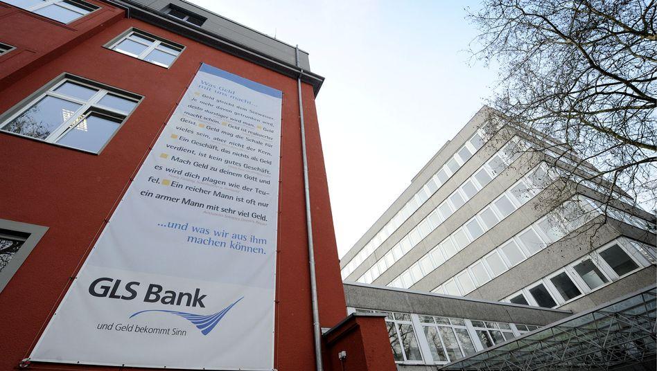 Hauptsitz der GLS Bank in Bochum: Alternativbanken haben in der Krise viel Zulauf.