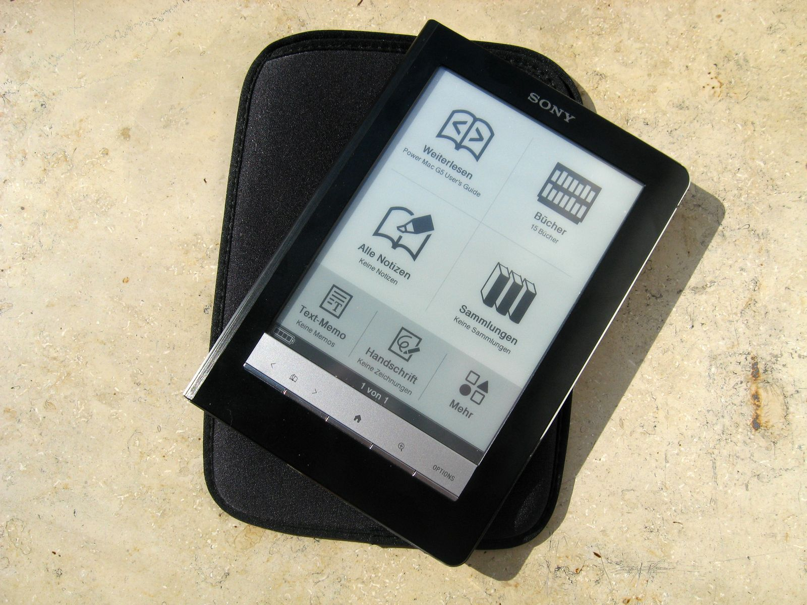 Sony eBook Reader PRS600 #7