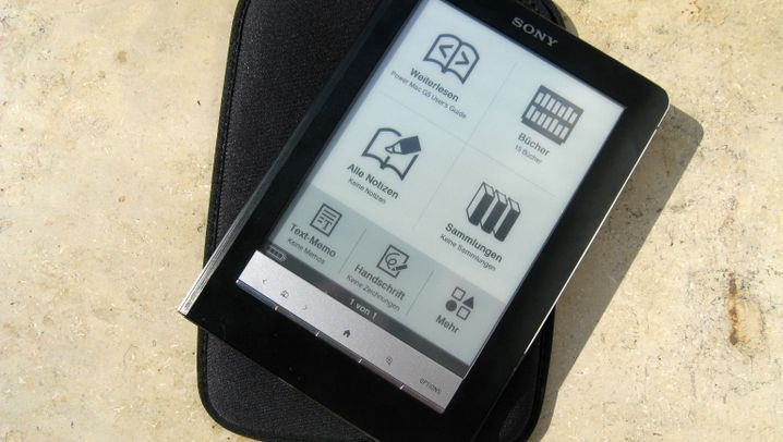 eBook Reader mit Touchscreen: Sony PRS-600 Touch Edition