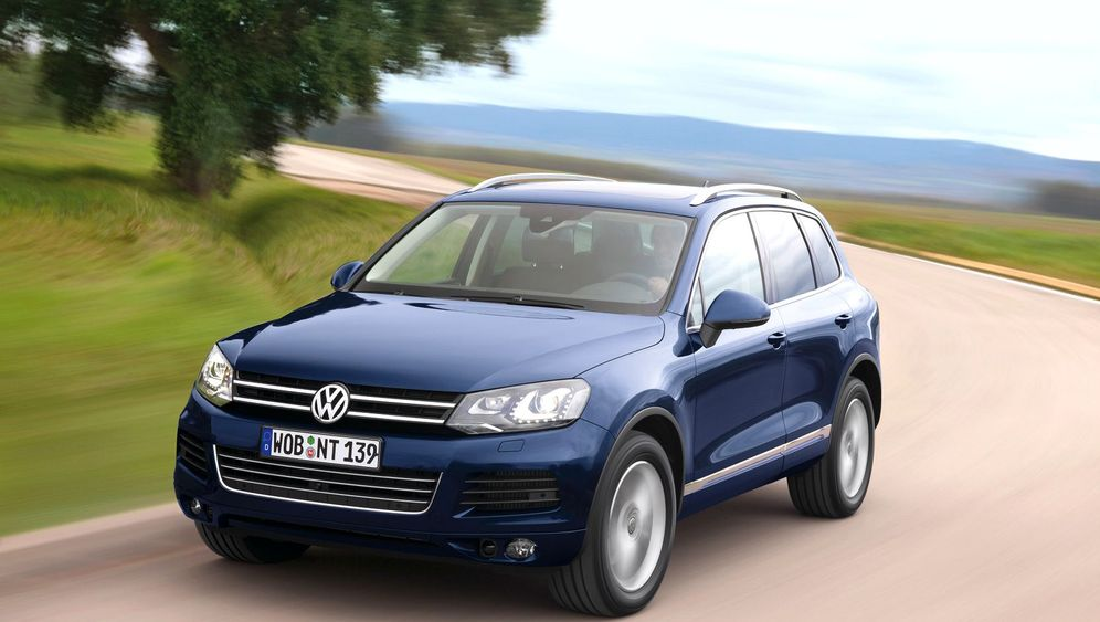 VW Touareg Hybrid: Sparen auf Sparflamme