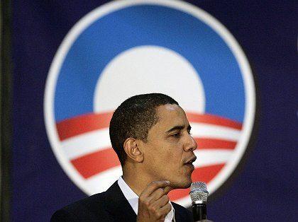 Liegt einer Umfrage zufolge in Iowa vorn: Der Bewerber Barack Obama
