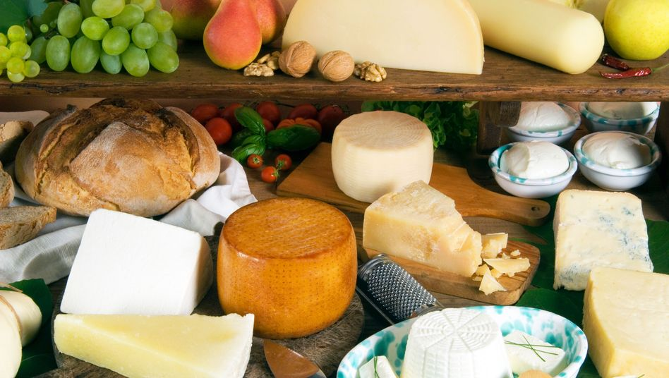 """Italienische Käsesorten: Mehr als 130.000 Italiener haben die Petition """"Nein zu Milchpulver"""" unterschrieben"""