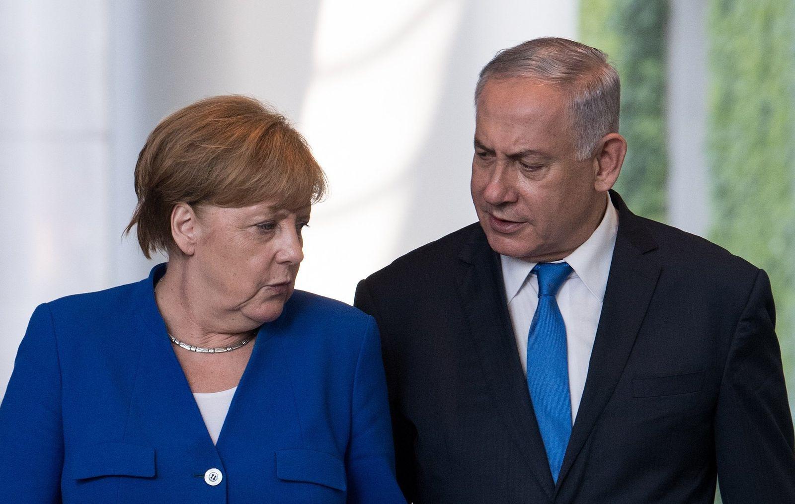 Angela Merkel und Benjamin Netanyahu