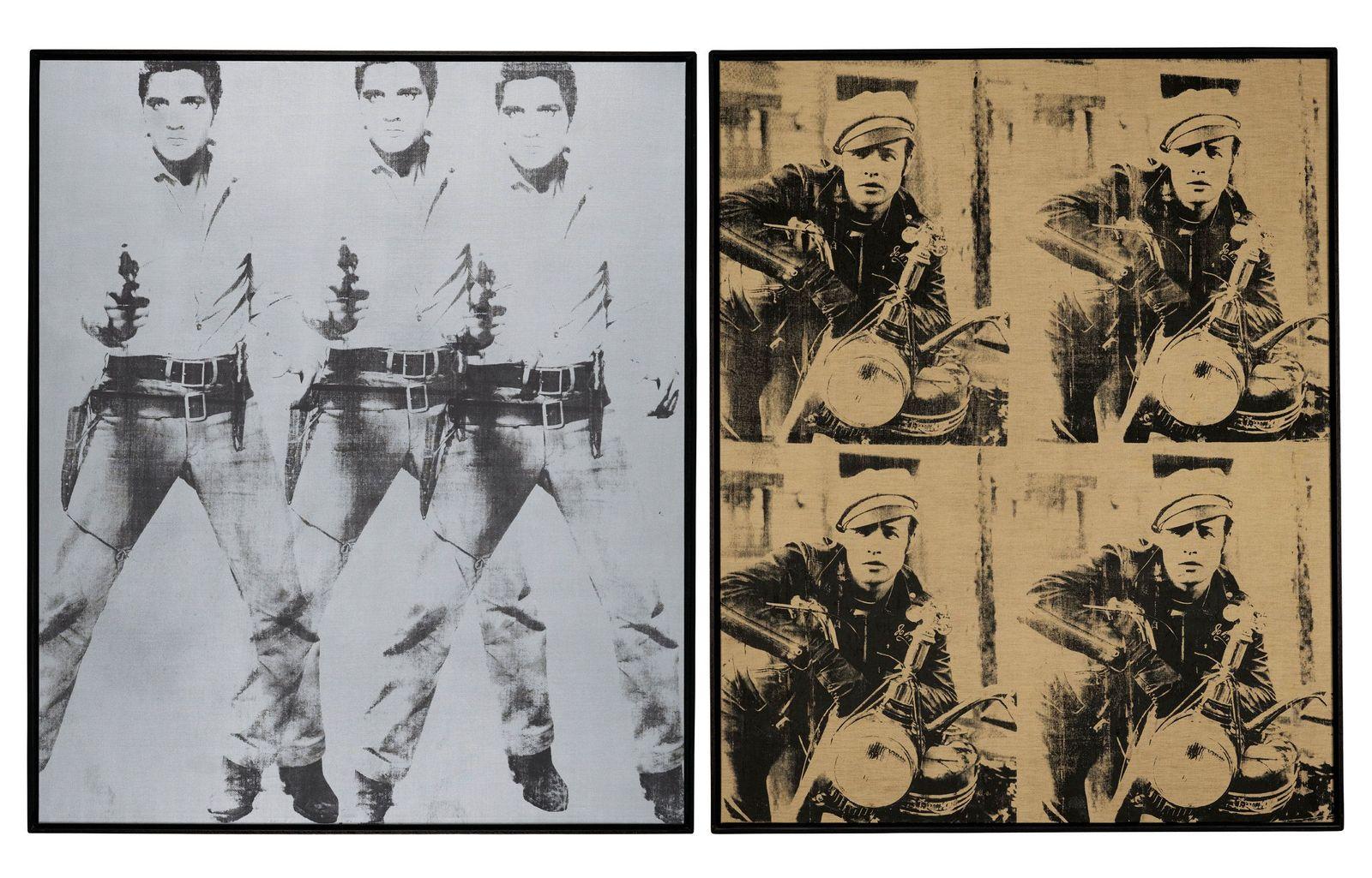 Versteigerung Warhol Bilder