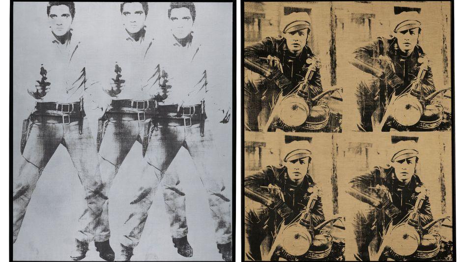 """Warhol-Werke """"Triple Elvis"""" und """"Four Marlons"""": Die erhofften Erlöse liegen bei 100 Millionen Euro"""
