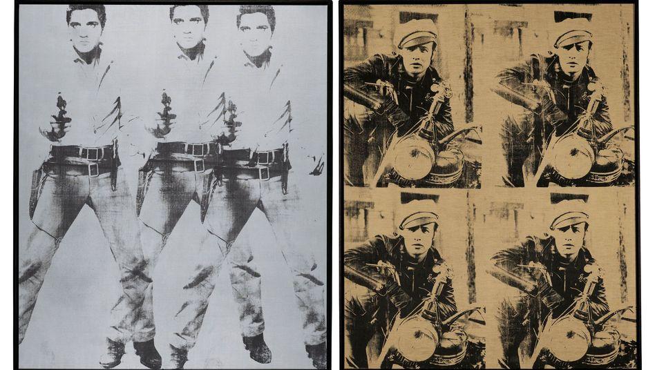 """Warhol-Werke """"Triple Elvis"""" und """"Four Marlons"""": Immense Wertsteigerung"""