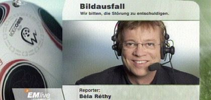 ZDF-Reporter Réthy: Das Gesicht, das jetzt ganz Deutschland kennt