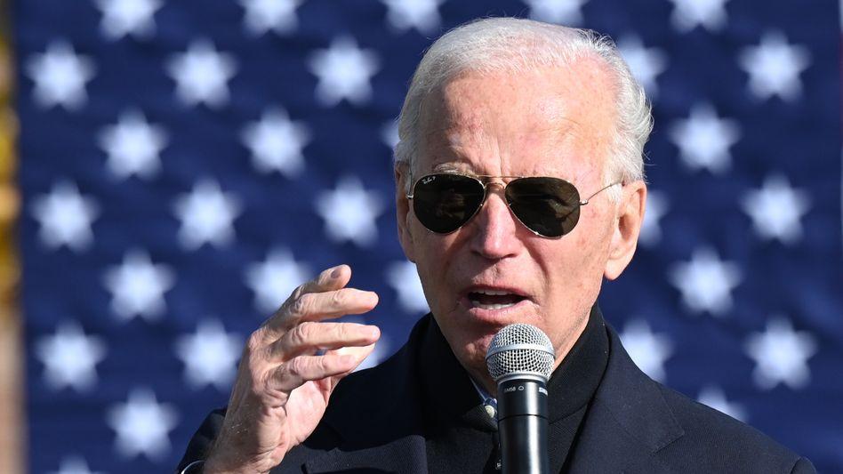 """Joe Biden in Flint, Michigan: """"Fertig mit dem Chaos, den Tweets, der Wut, dem Hass"""""""
