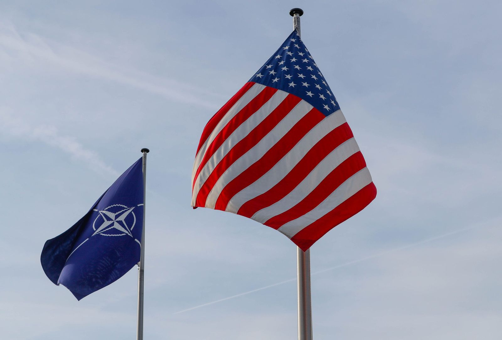 NATO / Brussels / Fahnen