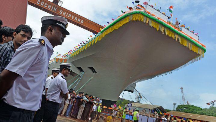 Flugzeugträger: Indiens graue Kolosse