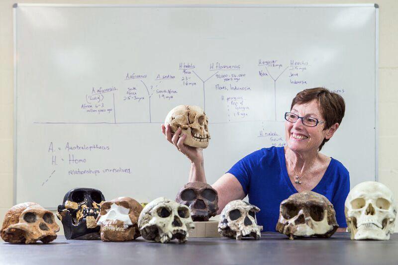 EINMALIGE VERWENDUNG Dr Debbie Argue of the ANU School of Archaeology & Anthropology