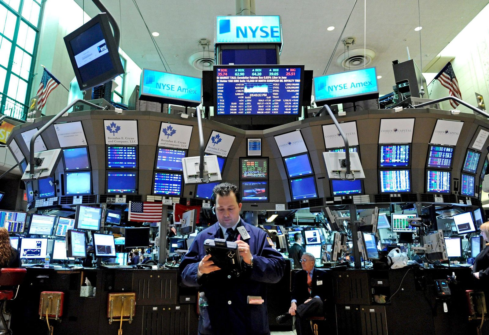 US-Börse in New York (Kopie)