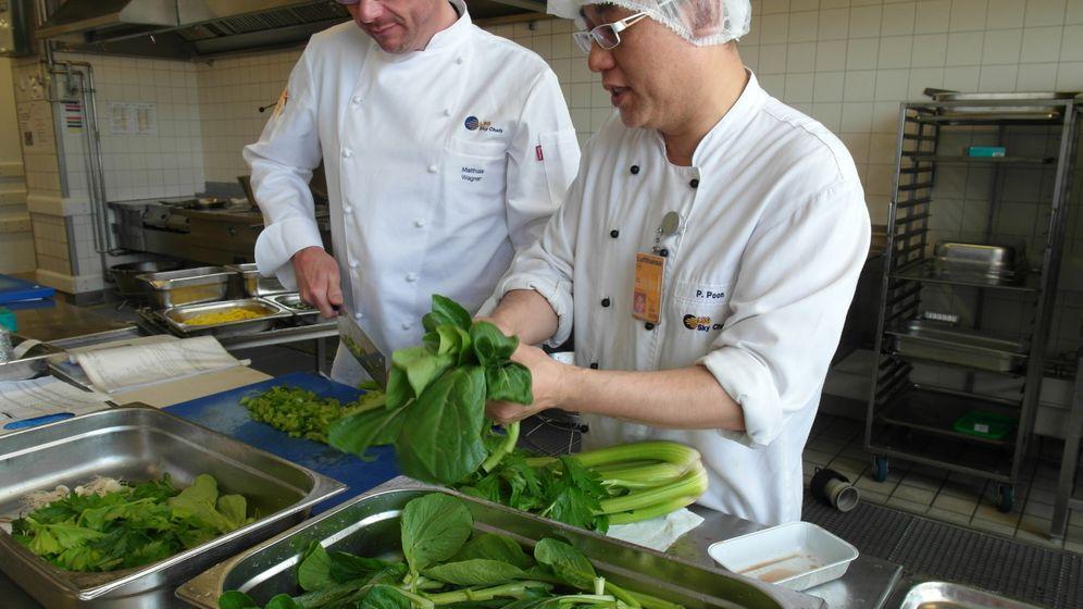 Bordmenü-Küche: Der Geschmack des Langstreckenflugs