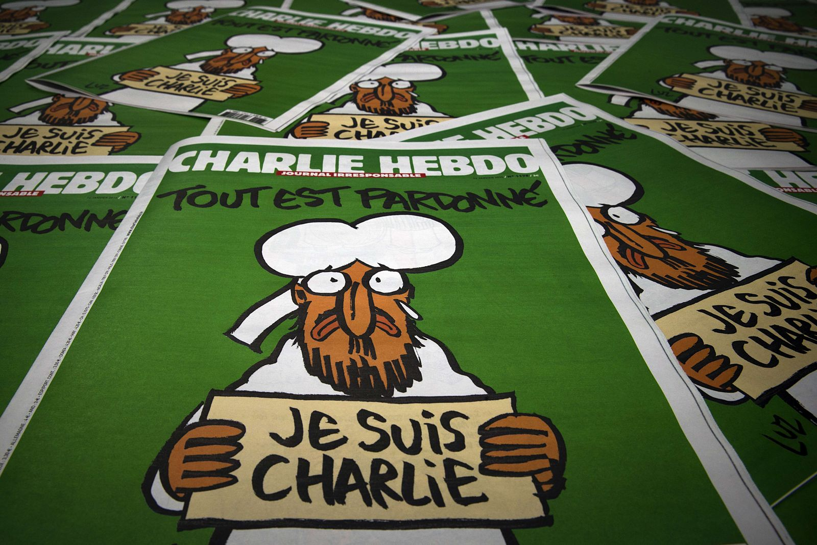 Cover Charlie Hebdo