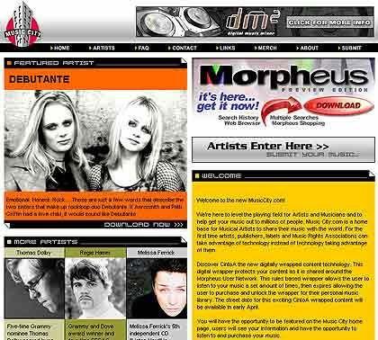 Die Nutzer sollen sich möglichst fürchten: Die Tauschbörse Morpheus