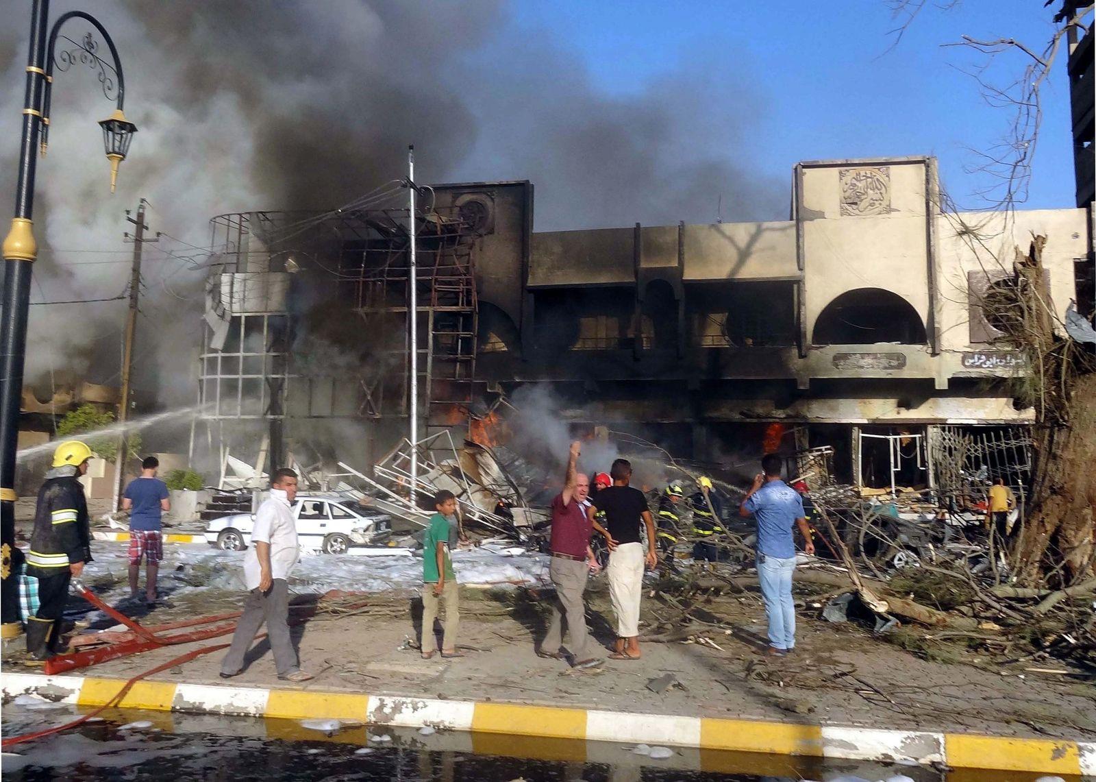 Anschlag/ Kirkuk