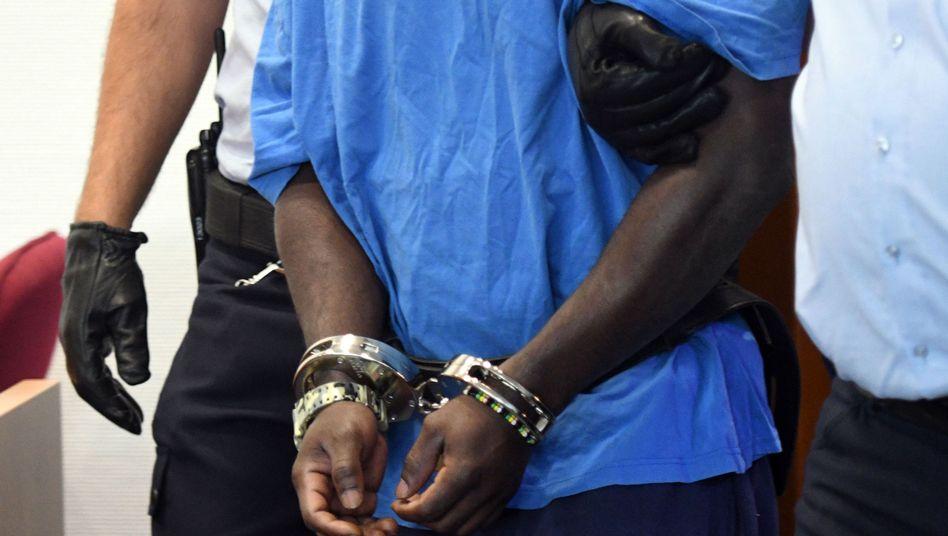 Angeklagter im Bonner Landgericht