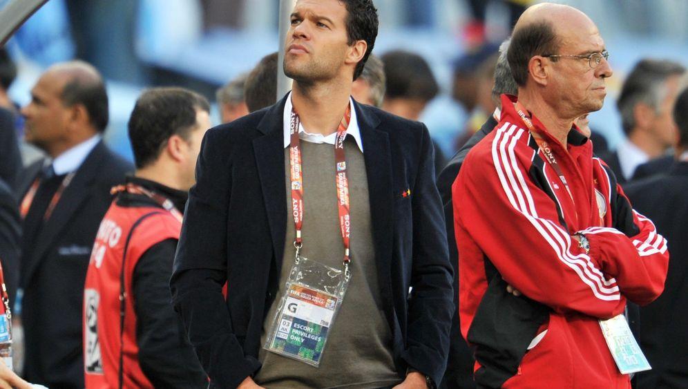 """WM-Zuschauer Ballack: """"Capitano"""" vor schwerem Comeback"""