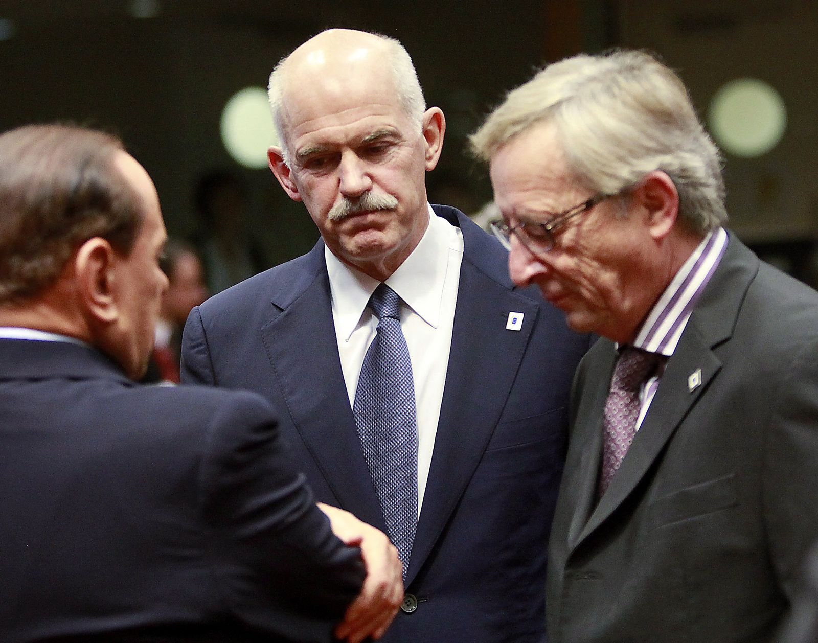 Papandreou/ Juncker