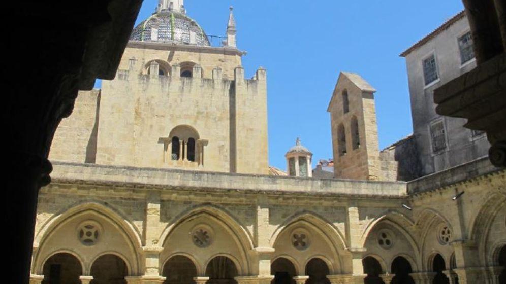 Kathedrale in Portugal: Schwarzer Pilz in Sé Velha