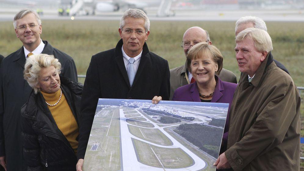 Einweihung in Frankfurt: Zankapfel vierte Landebahn