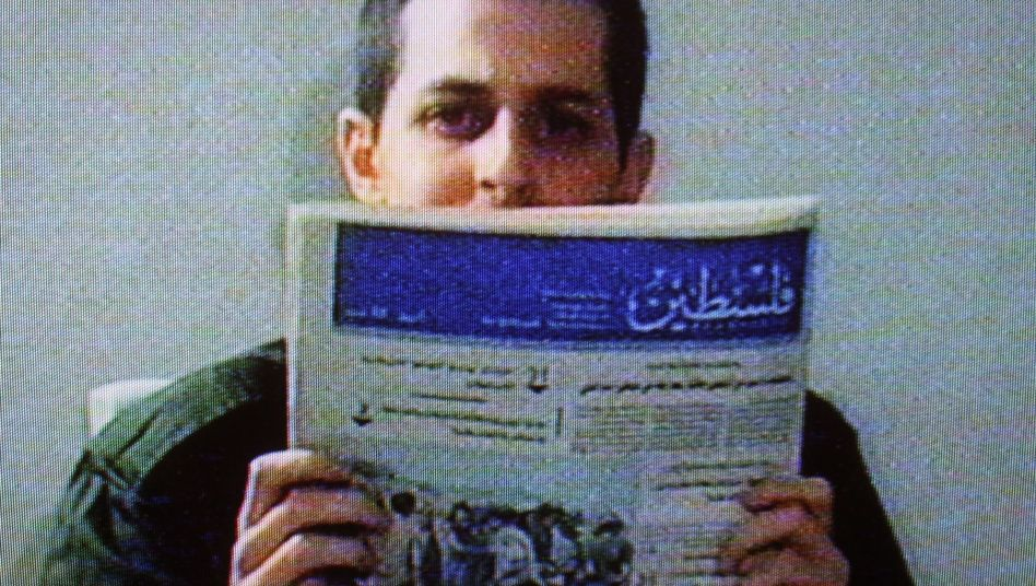 Israeli soldier Gilad Shalit (shown here in 2009) is expected to be released within a week.