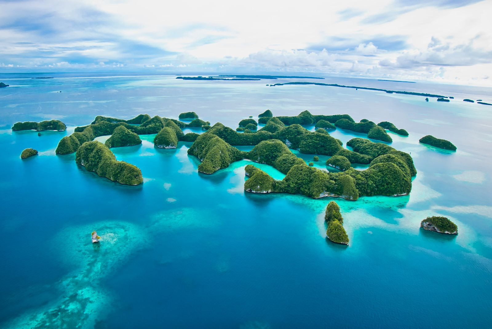 70 islands Rock Island Palau