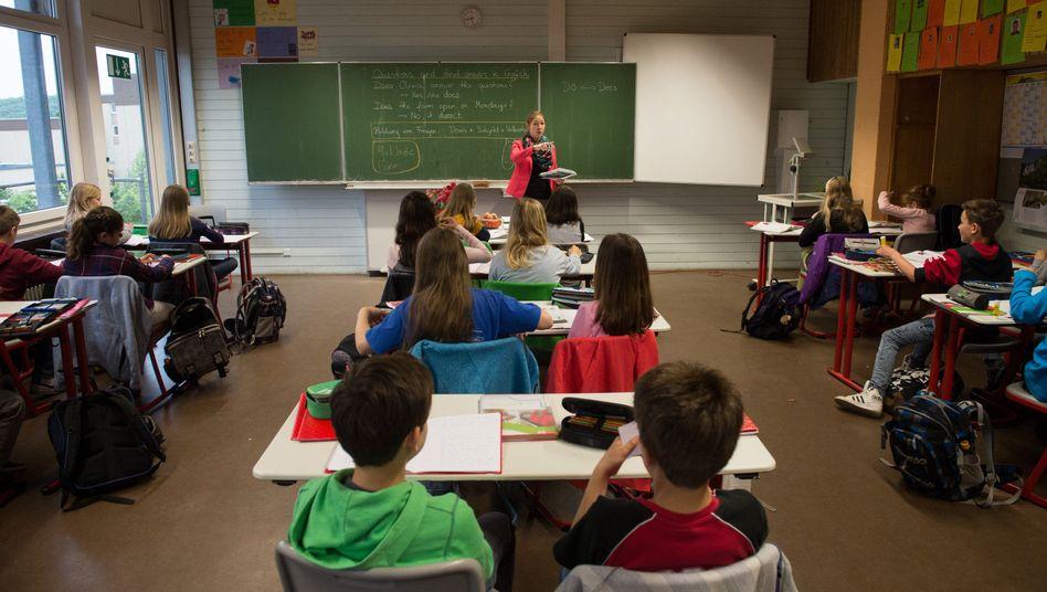 Schüler im Klassenzimmer (Archivbild)