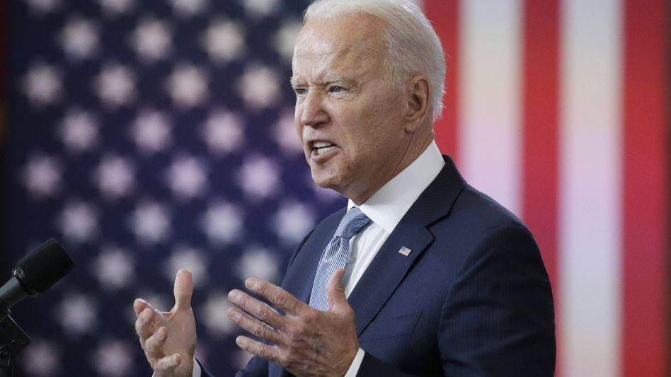 »Das ist die gefährlichste Bedrohung für das Wählen und die Integrität von freien und fairen Wahlen in unserer Geschichte«, sagte Präsident Biden