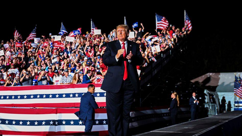 Ehemaliger Präsident Trump: »Die Republikaner müssen hart bleiben«