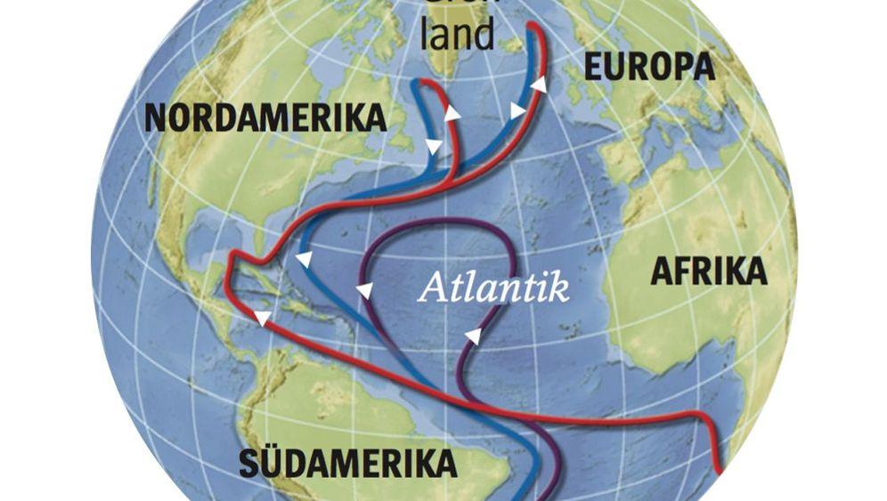 Klimawandel und Golfstrom: Fragile Ozeanzirkulation