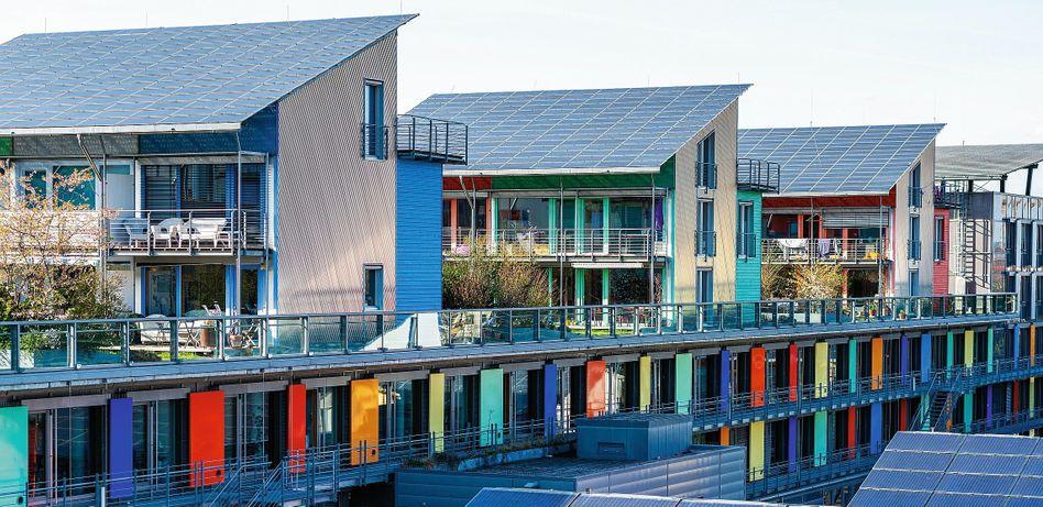 Solardächer in Freiburg