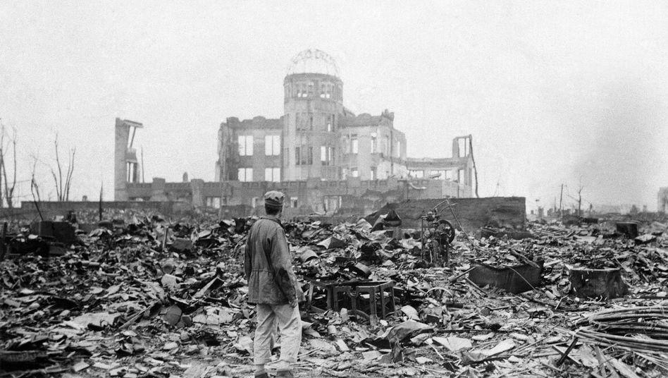 Hiroshima nach dem US-Atomangriff