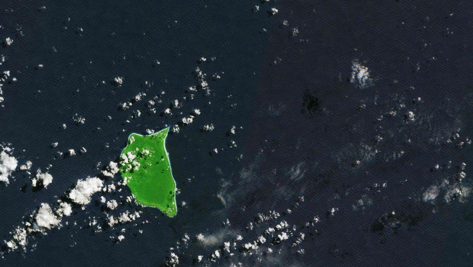 Satellitenbild von Henderson Island