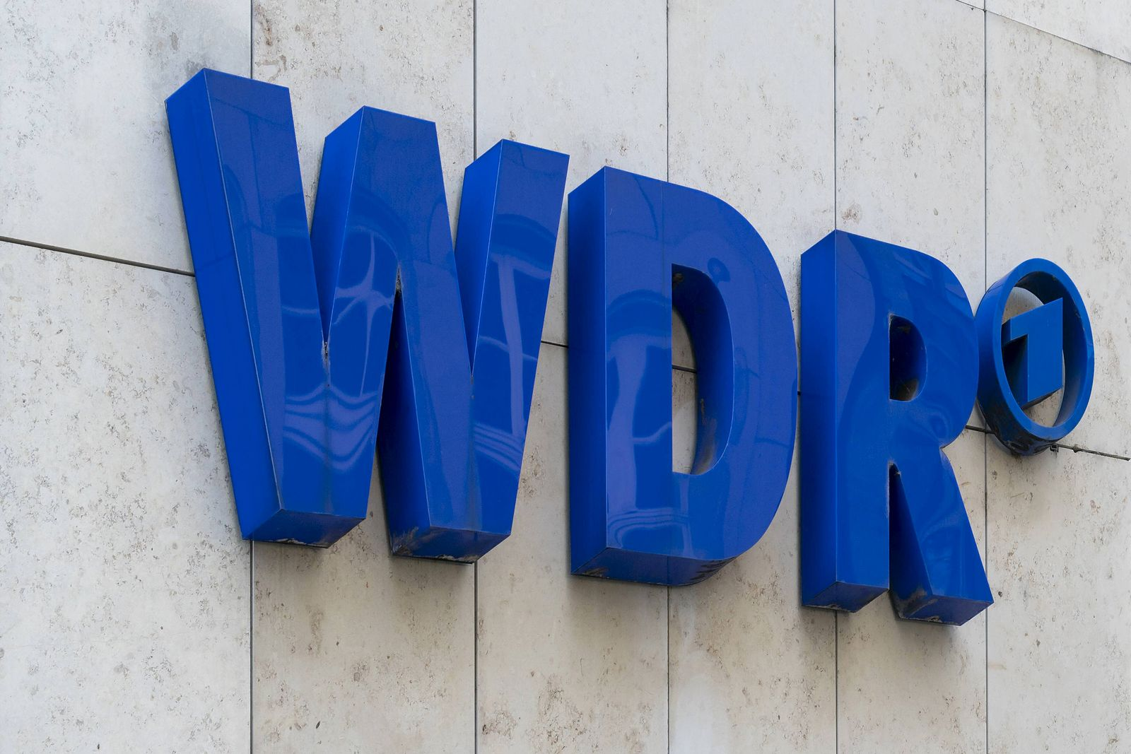 EINMALIGE VERWENDUNG WDR Logo
