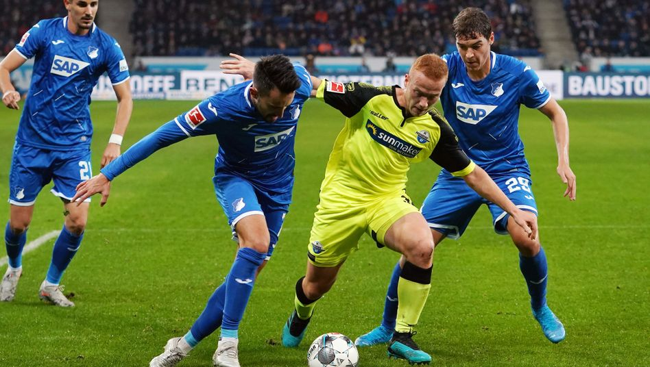 Paderborner Niederlage gegen Hoffenheim