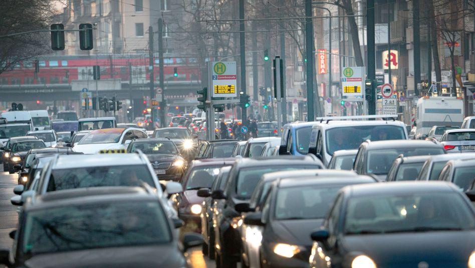 Verkehr in Düsseldorf: Bis 2050 will Deutschland weitgehend klimaneutral werden