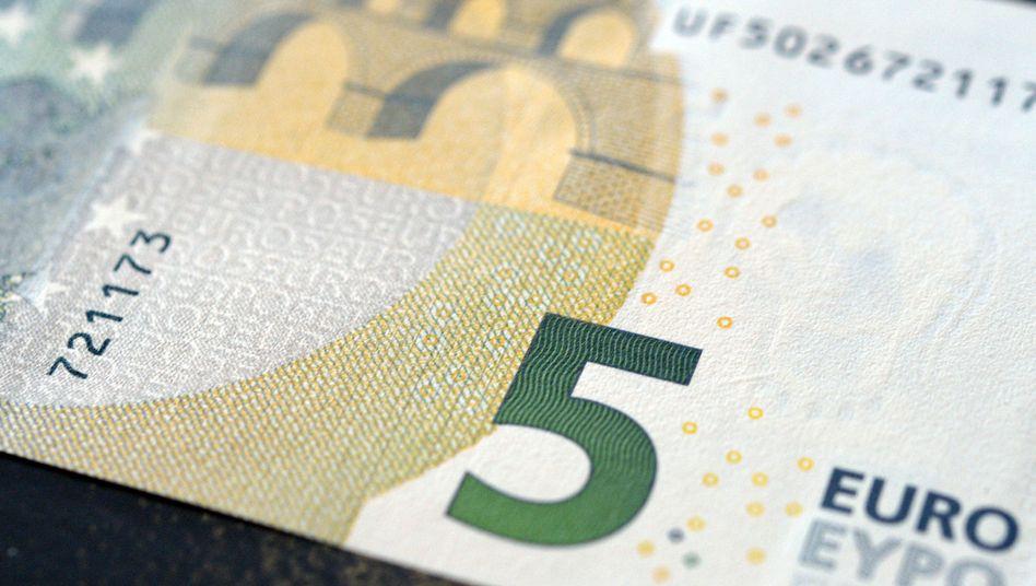 Neuer-Fünf-Euro-Schein: Bunter und sicherer