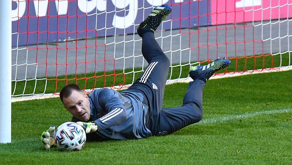 Marc-André ter Stegen beim DFB-Training