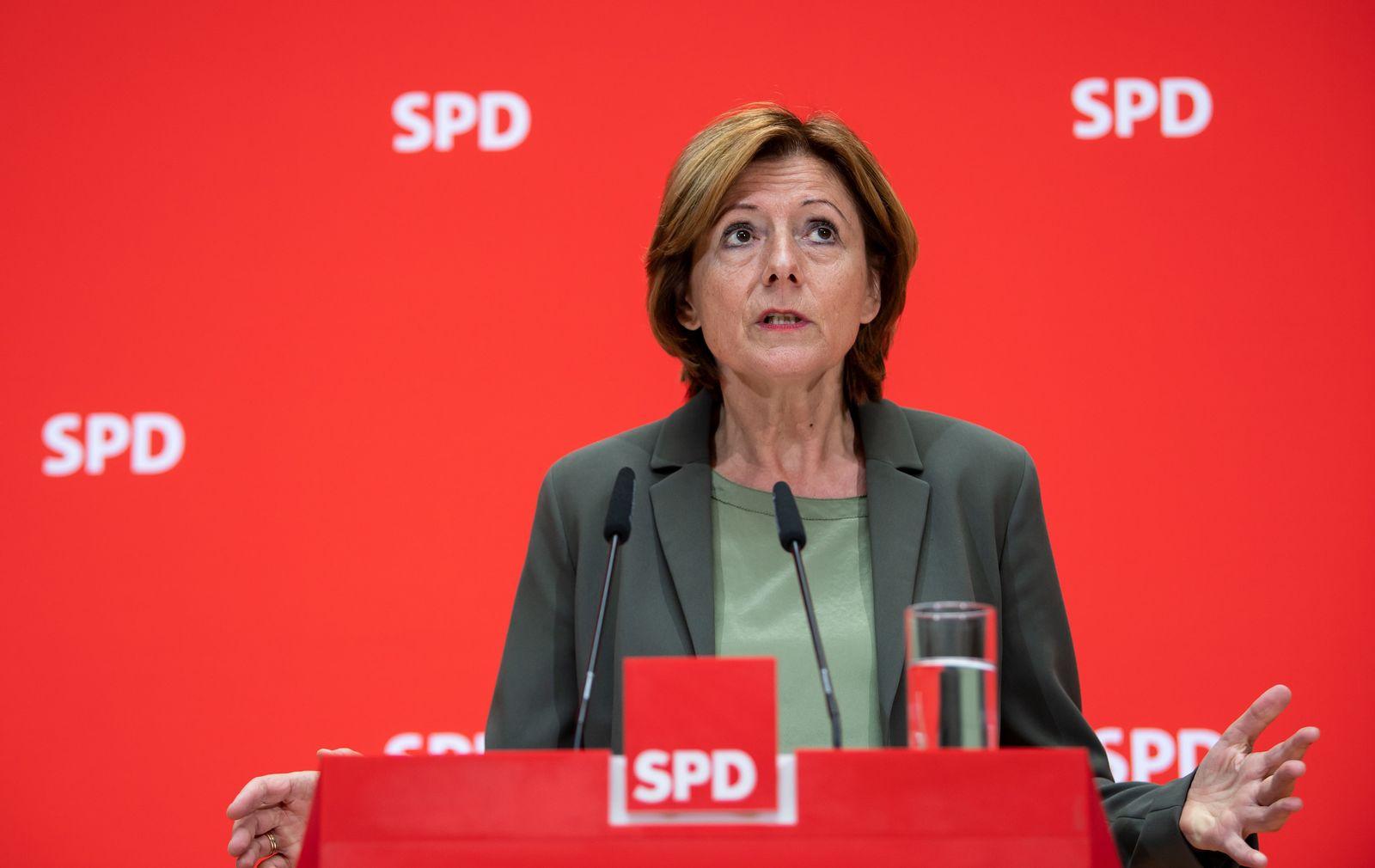 Pressekonferenz der SPD zu Klima