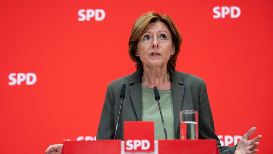 SPD-Chefin Malu Dreyer: Offen mit den Grünen sprechen