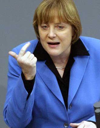 Hofft auf Verständnis der Bundesbürger: Angela Merkel